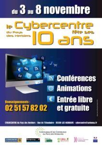 affiche 10 ANS Cyber