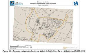 carte LPO Val de la Pellinière