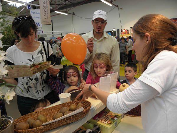 dégustation de pommes Gab Vendée et Cicadelle