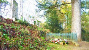 le tombeau de clemenceau à Mouchamps