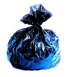 sac plastique noir tracé