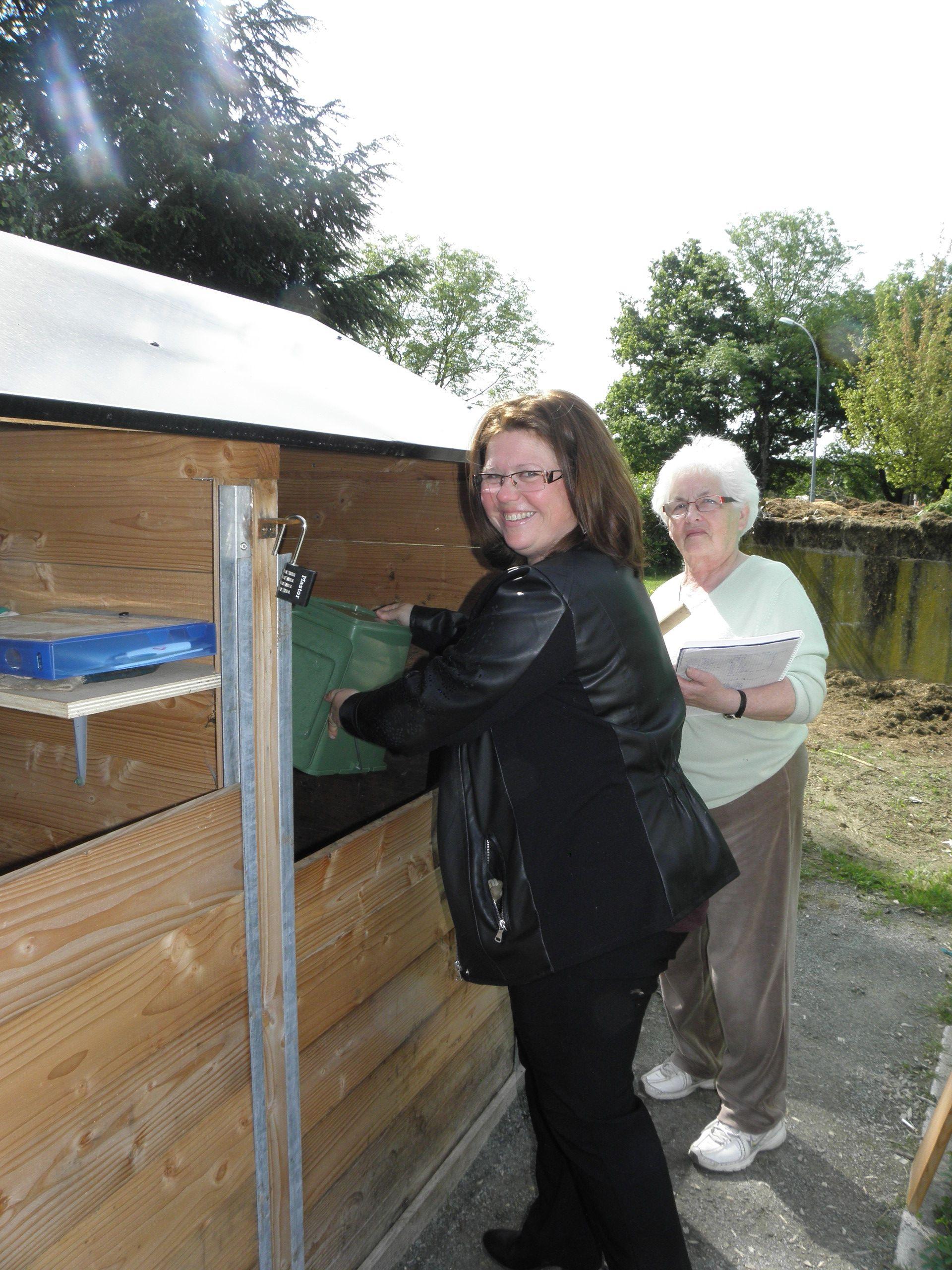 Pavillon de compostage à la Demoiselle