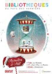 affiche fête de Noël du Réseau