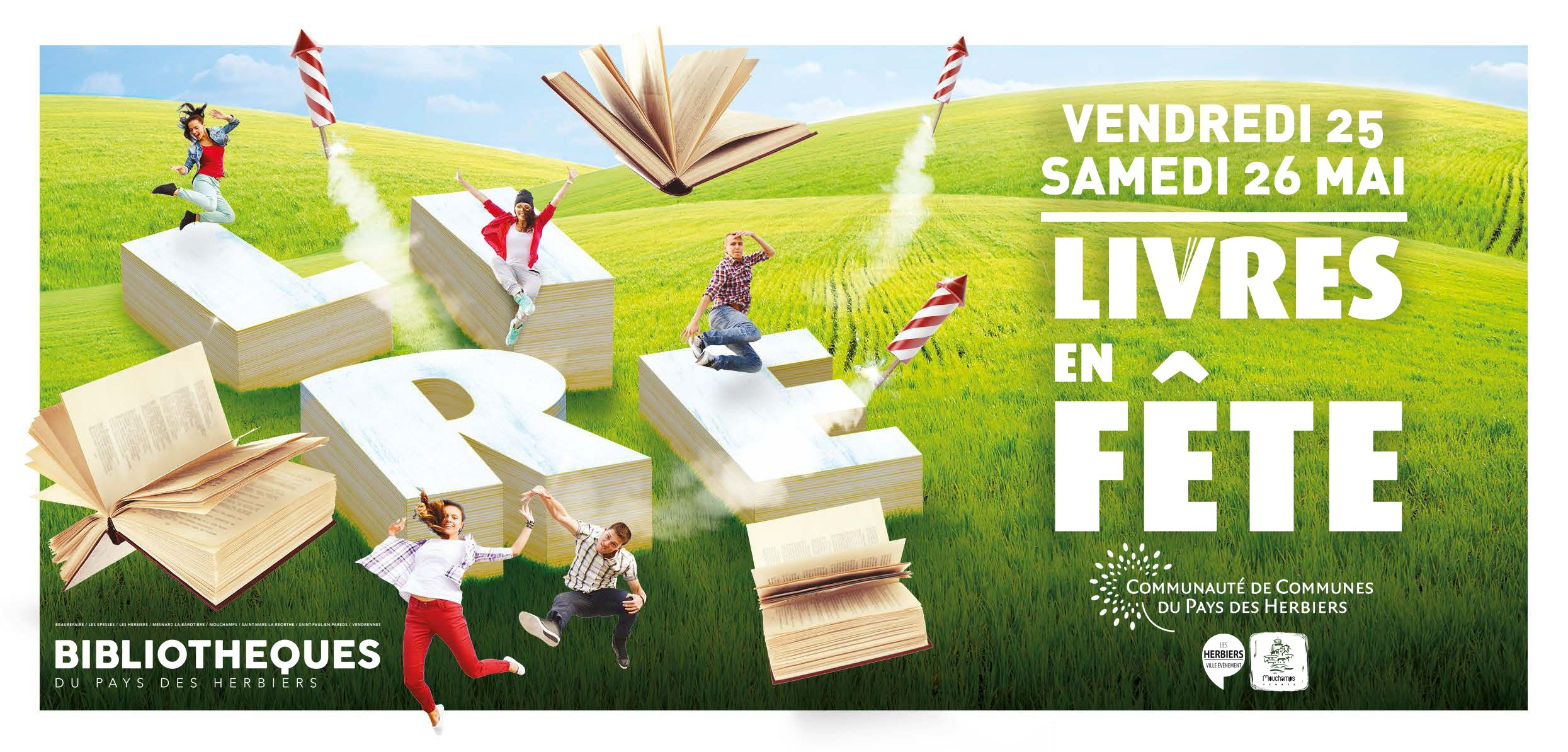 La Valise Rouge Les Herbiers livres en fête - culture et loisirs